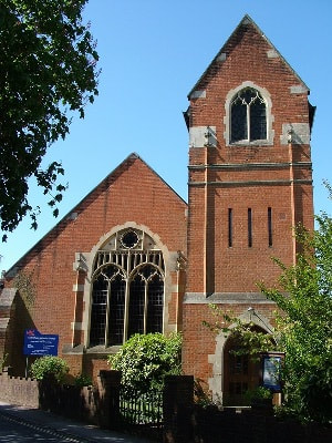 Leatherhead Metodist Churhc, Church Road, KT22 8AY, exterior, tower,