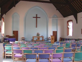 Leatherhead Methodist Church, Church Road, KT22 8AY, interior,