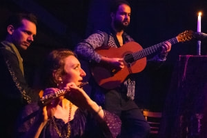 CarmenCo, Emily Andrews, flute, voice, Francisco Correa, David Massey, guitar, 22nd October 2020,