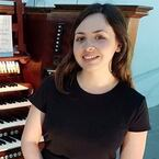 Marion Bettsworth, organist, St Michael's, Highgate, London, N6, 15th October 2020,